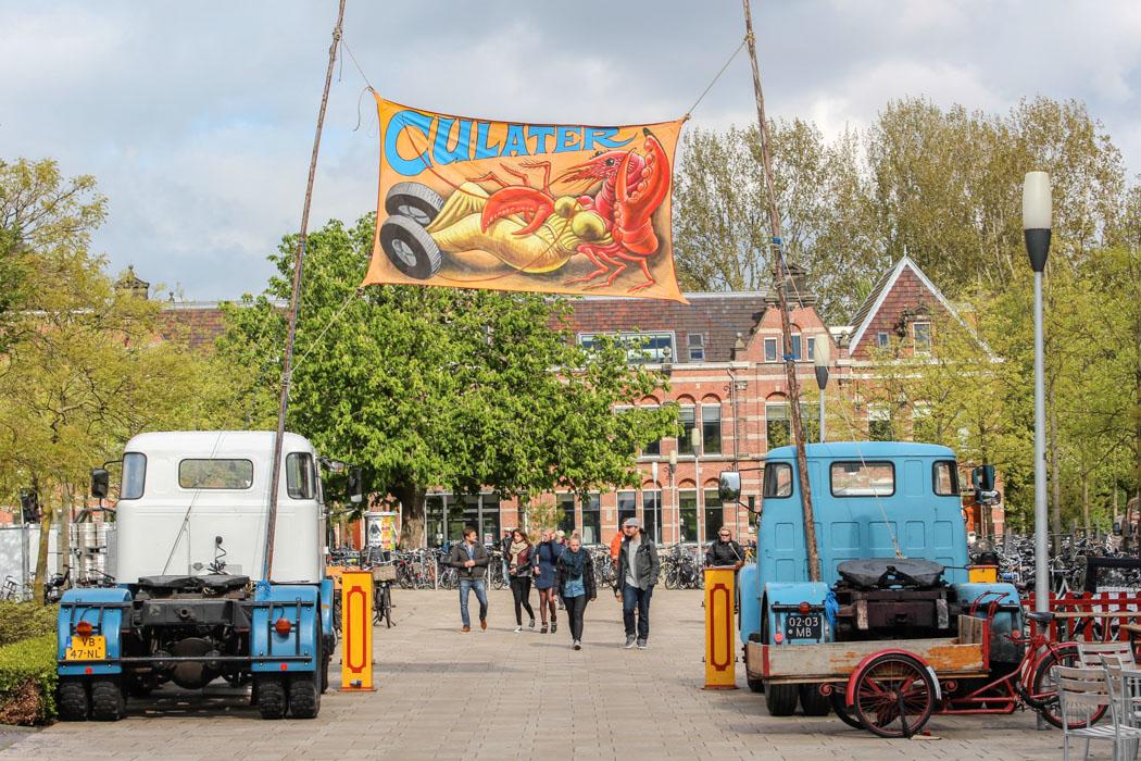 De Rollende Keukens : Das rollende keukens festival in amsterdam essen auf rädern