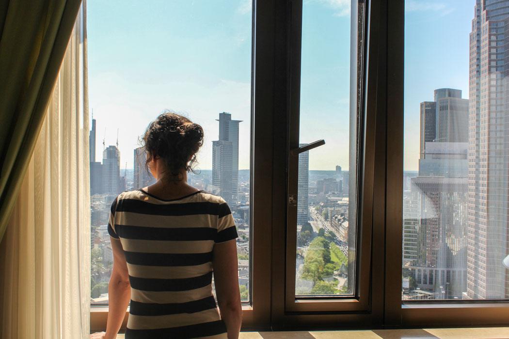 Auf Hotelzeitreise im Marriott Frankfurt