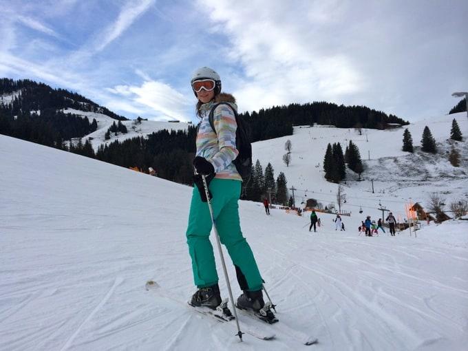 Skifahren lernen am wilden kaiser in zwei tagen