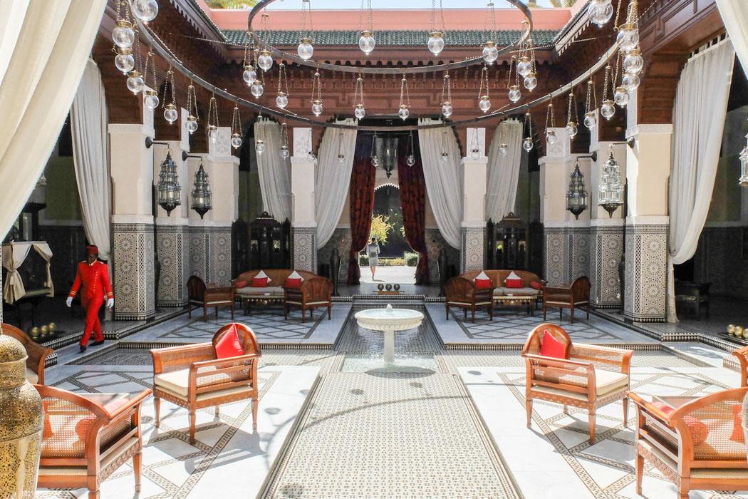 Begehbarer kleiderschrank plötzlich prinzessin  Plötzlich Prinzessin: Das Royal Mansour in Marrakesch