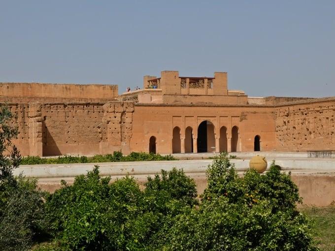 Marrakesch Guide – Tipps, Ausflüge, & Sehenswürdigkeiten {Marokko}: El-Badi Palast