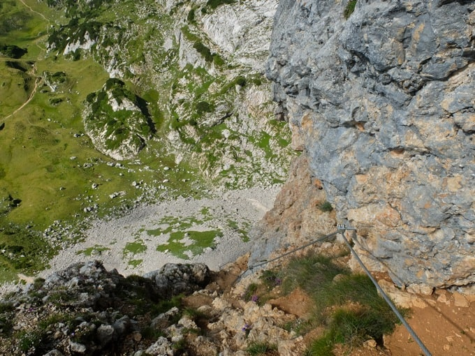 5-Gipfel-Klettersteig-Rofan17
