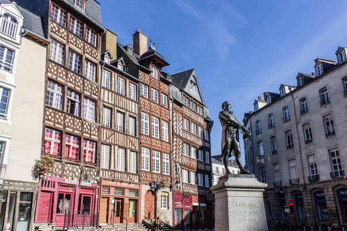 Bretagne Rundreise Tag #5 - Ein Tag in Rennes