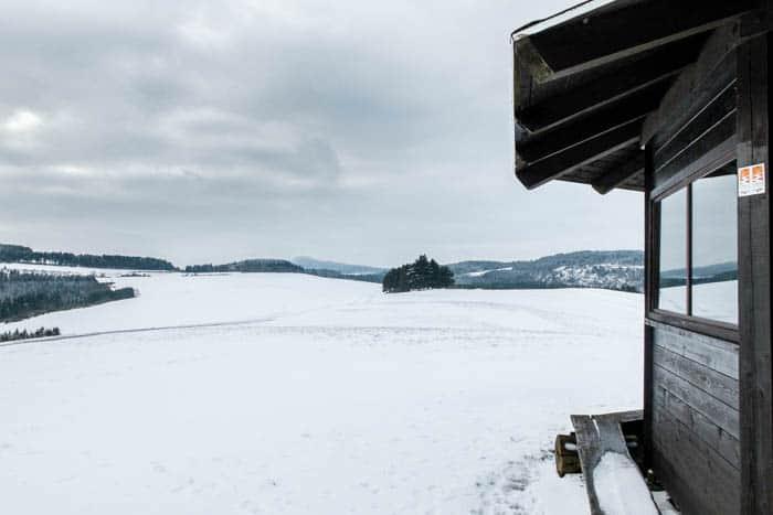 Winter Eifel Bergheideweg