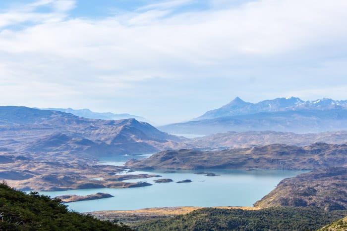 Torres del Paine W-Trek: Alle Infos, Tipps & Erfahrungen - Blick auf den Lago Penoe vom Valle de Frances
