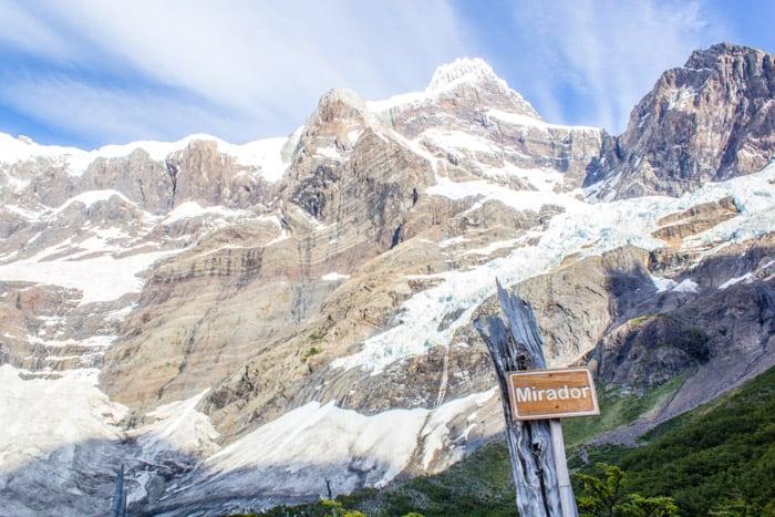 Torres del Paine W-Trek: Alle Infos, Tipps & Erfahrungen -  Der erste Mirador auf dem Weg zum Britanico Camp