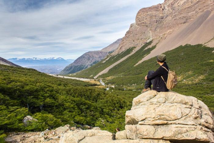 Torres del Paine W-Trek: Alle Infos, Tipps & Erfahrungen - Mirador Britanico Lookout im Valle de Frances