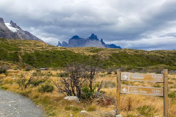 Torres del Paine W-Trek: Alle Infos, Tipps & Erfahrungen - 11 km Zum Lago Grey