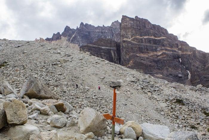 Torres del Paine W-Trek: Alle Infos, Tipps & Erfahrungen -  Auf dem Weg zum Mirador Torres