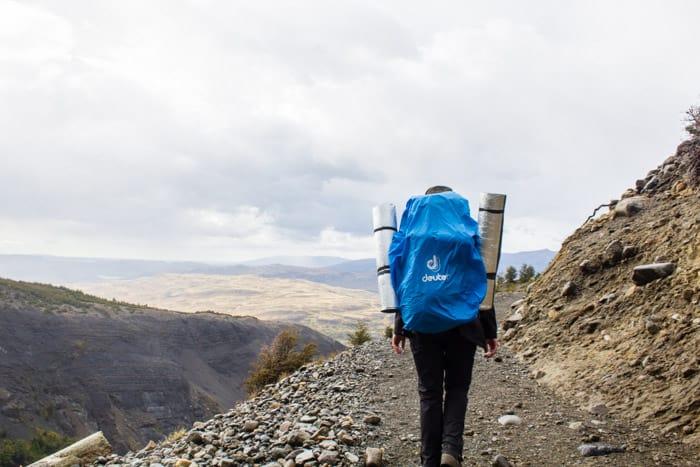 Torres del Paine W-Trek: Alle Infos, Tipps & Erfahrungen -  Abstieg vom Camp Torres