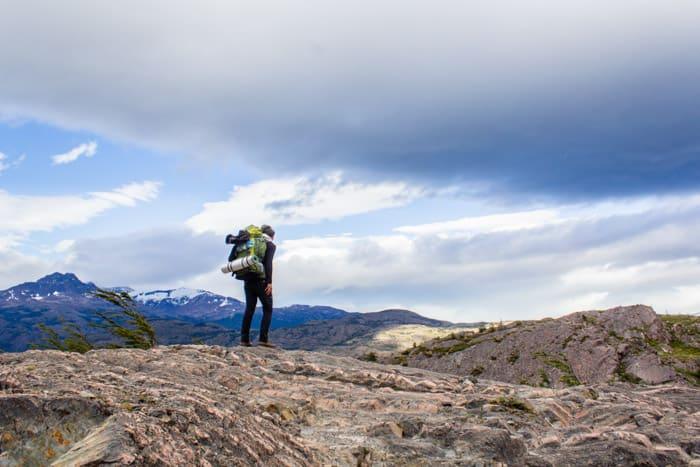 Torres del Paine W-Trek: Alle Infos, Tipps & Erfahrungen - Auf dem Weg zum Grey Gletscher