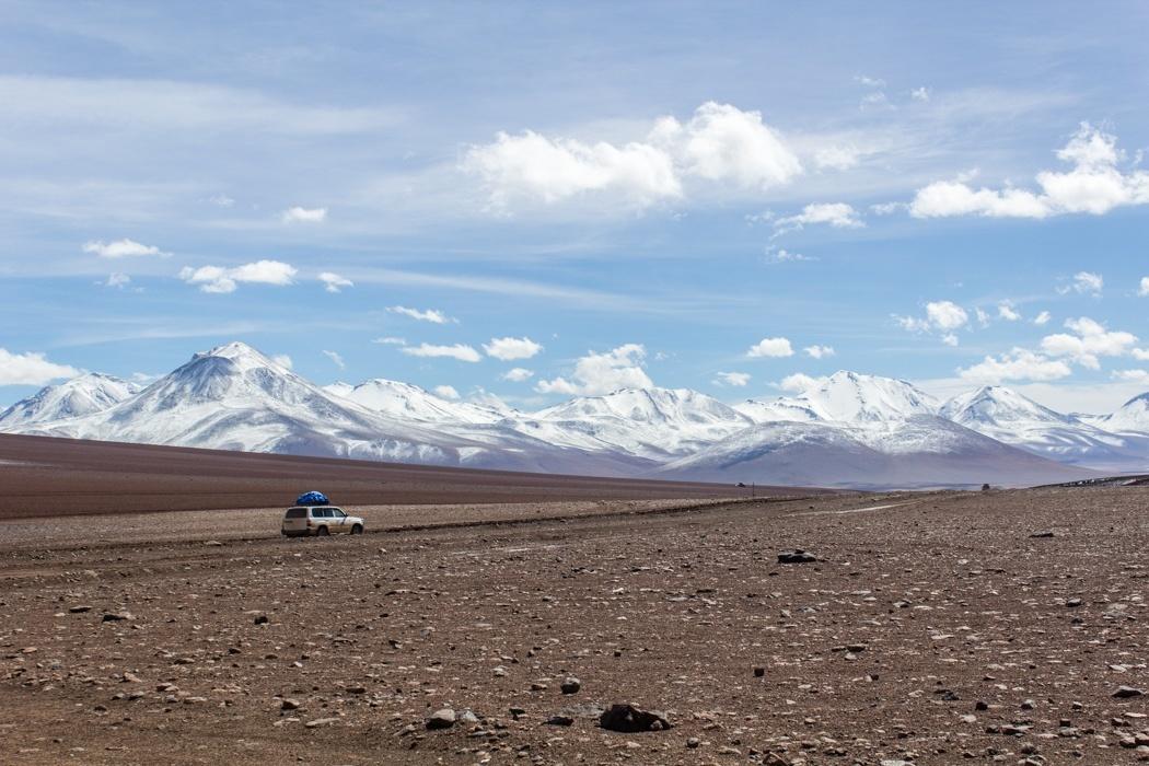 Salar de Uyuni Tour: Jeep Tour über die Lagunenroute in Bolivien
