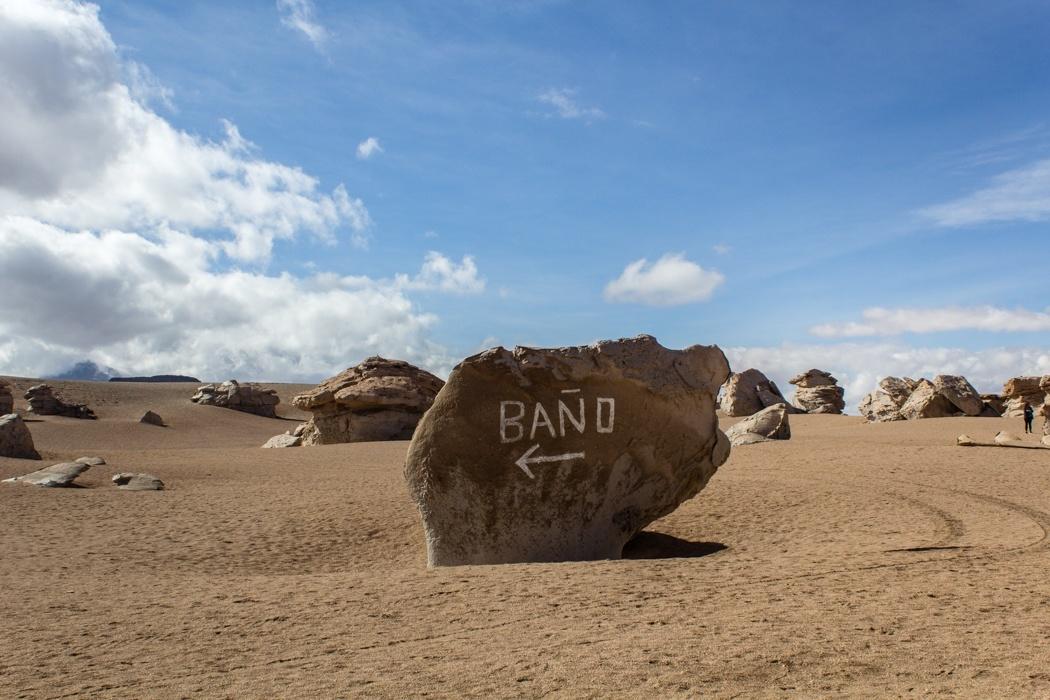 Salar de Uyuni Tour: Jeep Tour über die Lagunenroute in Bolivien - Bano am Arbol de Piedra