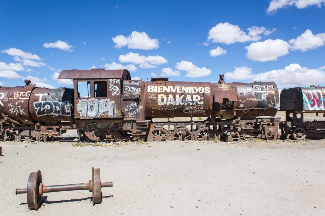 Salar de Uyuni Tour: Jeep Tour über die Lagunenroute in Bolivien - Zugfriedhof