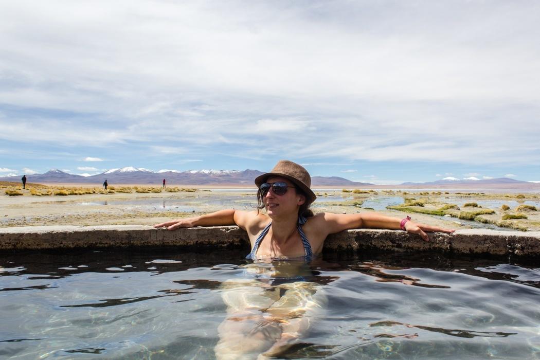 Salar de Uyuni Tour: Jeep Tour über die Lagunenroute in Bolivien - Chalviry Hot Springs