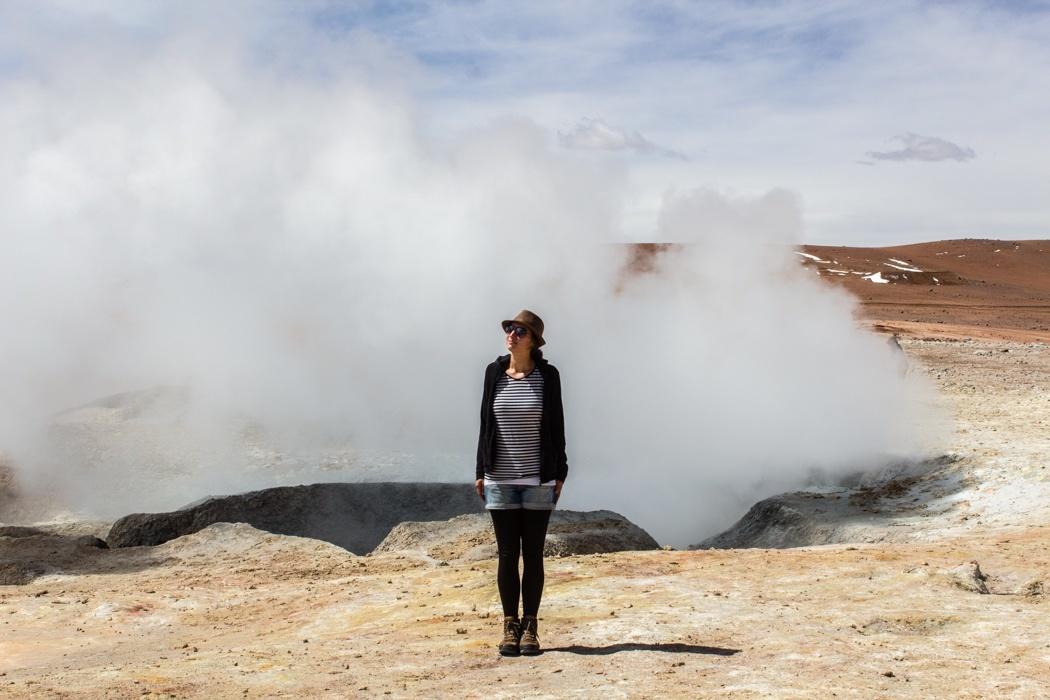 Salar de Uyuni Tour: Jeep Tour über die Lagunenroute in Bolivien - Geysir