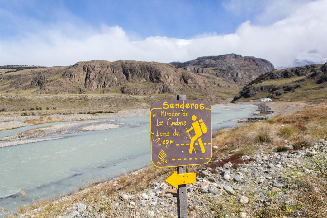 El Chaltén - zu den Miradores Los Cóndores und Las Águilas