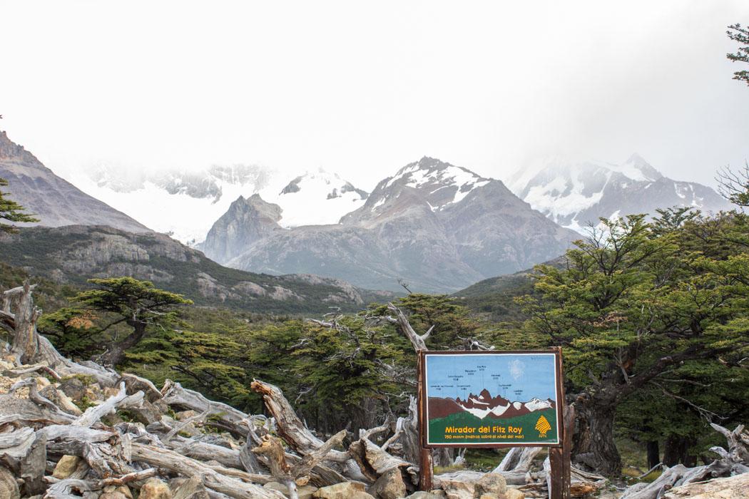 El Chaltén - Wanderung zur Laguna Los Tres - Mirador Fitz Roy