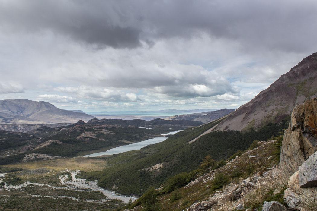 El Chaltén - Wanderung zur Laguna Los Tres - immer bergiger