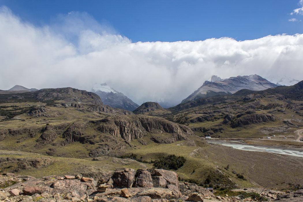 El Chaltén - zu den Miradores Los Cóndores und Las Águilas - Fast da