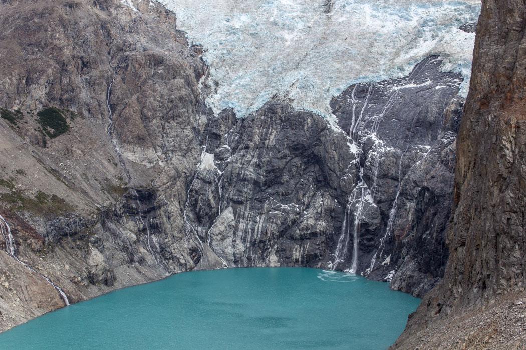 El Chaltén - Aussicht von der Laguna Los Tres - dieses Blau!