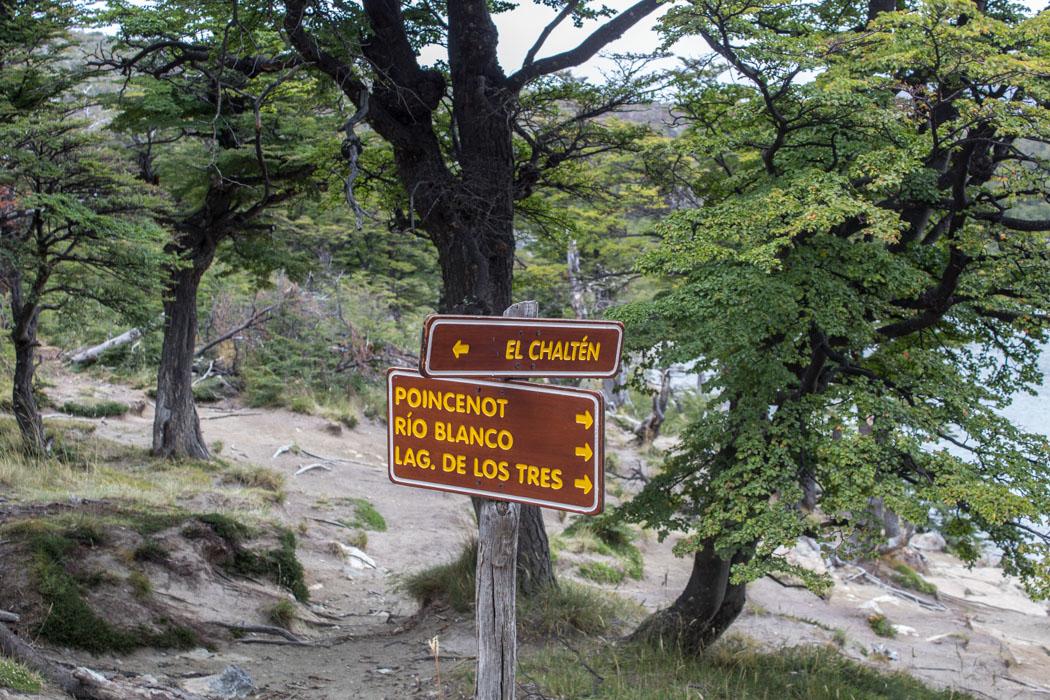 El Chaltén - Wanderung zur Laguna Los Tres - Rundweg