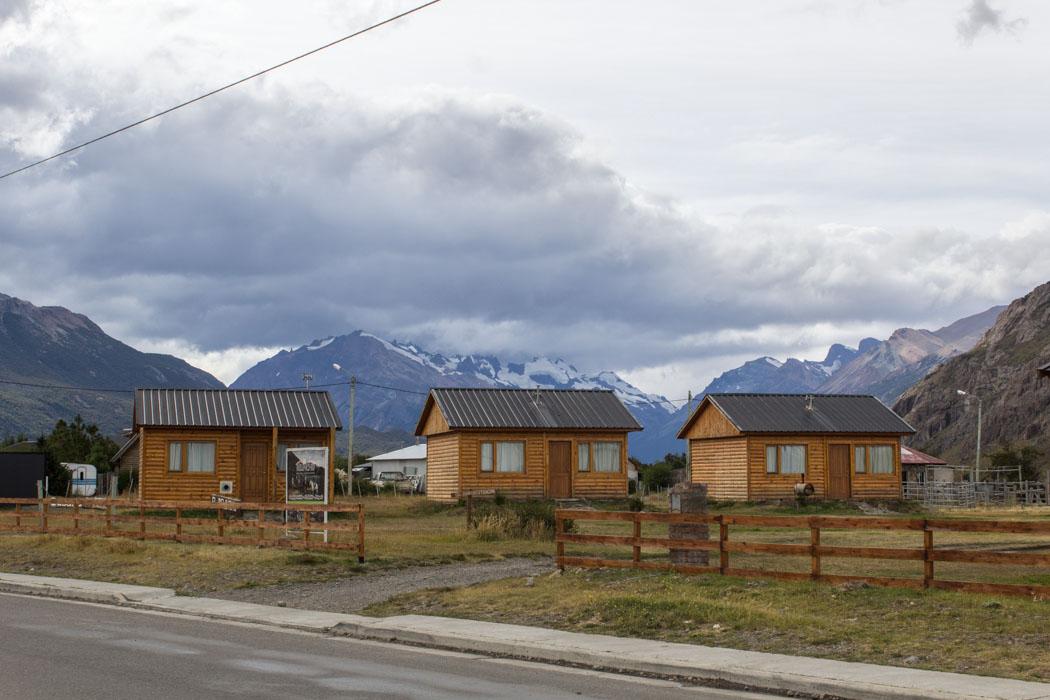 El Chaltén - Ferienhäuser im Ort