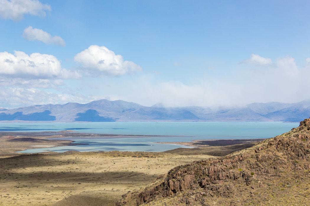 El Chaltén - zu den Miradores Los Cóndores und Las Águilas - Ausblick auf das Umland