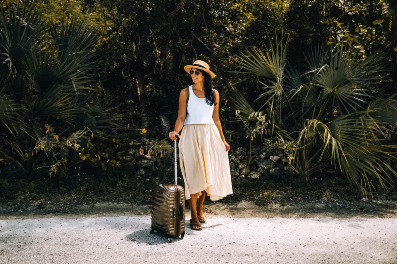 Nur mit Handgepäck reisen - die besten Tipps am Beispiel Bahamas