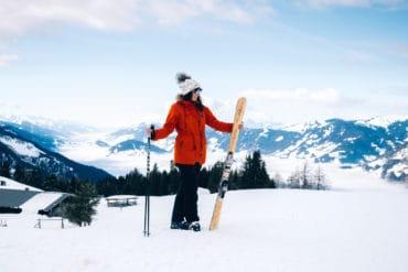Skifahren lernen Erwachsene