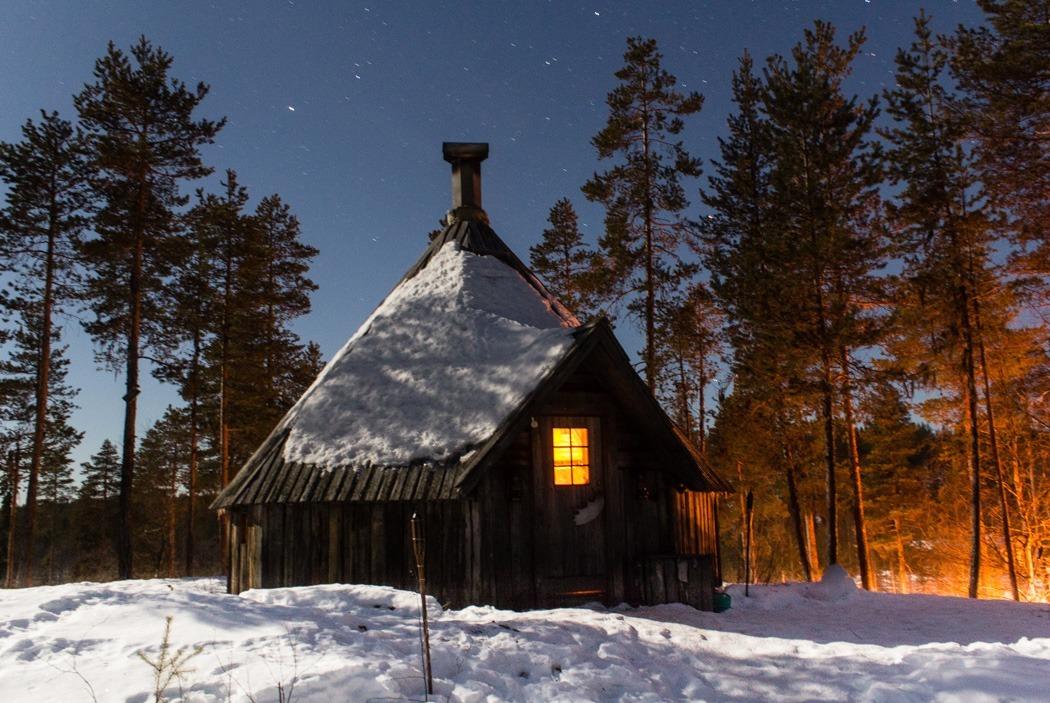 Schwedisch Lappland - 7 Abenteuer, die du erleben musst! z.B. Hüttenabenteuer