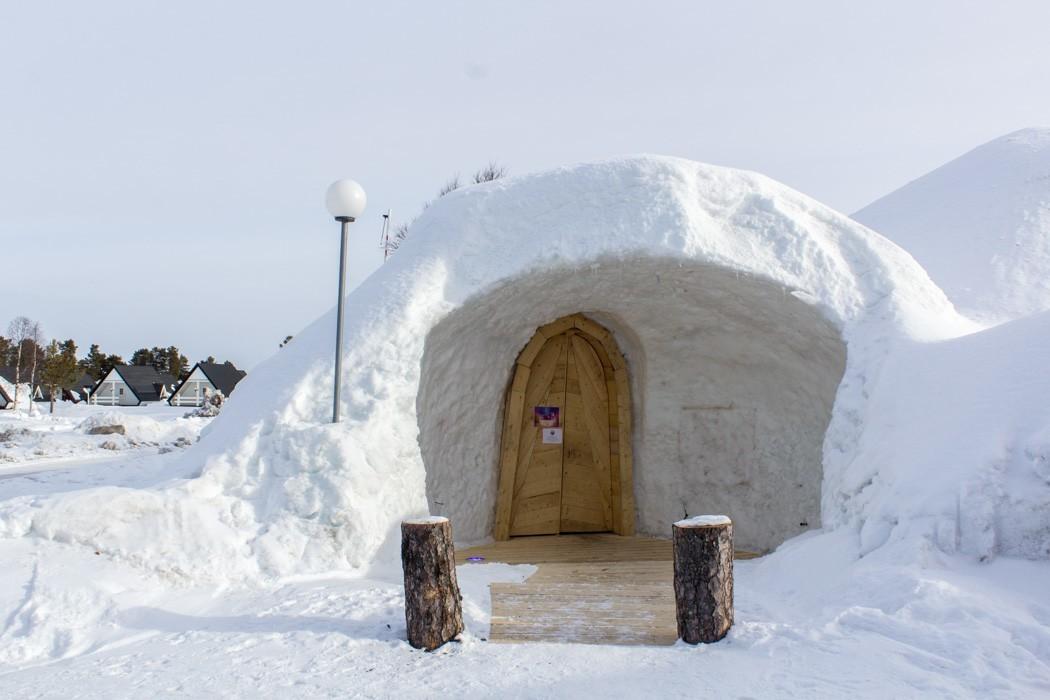 Schwedisch Lappland - 7 Abenteuer, die du erleben musst! z.B. Iglo Hotel Arjeplog