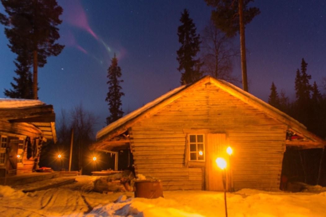 Schwedisch Lappland - 7 Abenteuer, die du erleben musst! z.B. Ein Hauch von Nordlichtern in Svansele