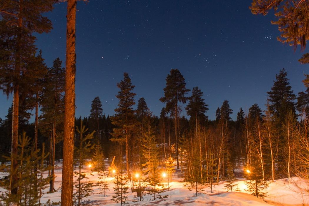 Schwedisch Lappland - 7 Abenteuer, die du erleben musst! z.B. Hüttenabenteuer in Svansele