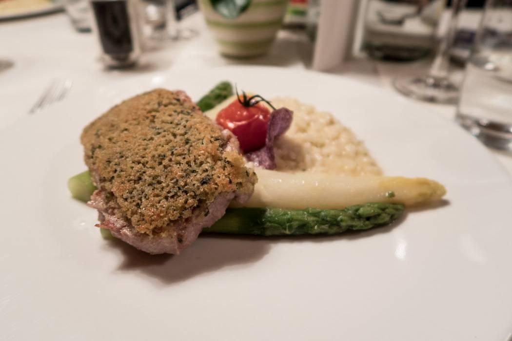 St. Moritz & das Rezept für ein perfektes Schneewochenende: Kulm Hotel St. Moritz, Abendessen Hauptgericht