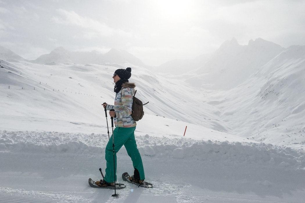 St. Moritz & das Rezept für ein perfektes Schneewochenende: Muottas Muragl Schneeschuhwandern