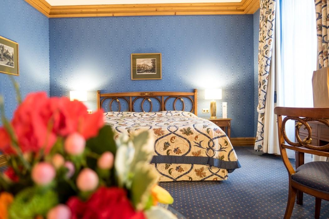 St. Moritz & das Rezept für ein perfektes Schneewochenende: Kulm Hotel St. Moritz, Zimmer