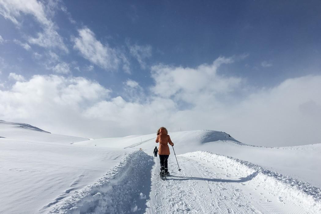St. Moritz & das Rezept für ein perfektes Schneewochenende: Muottas Muragl Schneeschuhtour