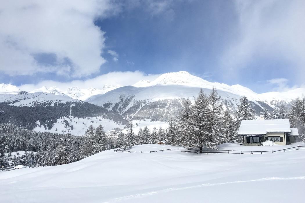 St. Moritz & das Rezept für ein perfektes Schneewochenende: Muottas Muragl beim Schlitten fahren