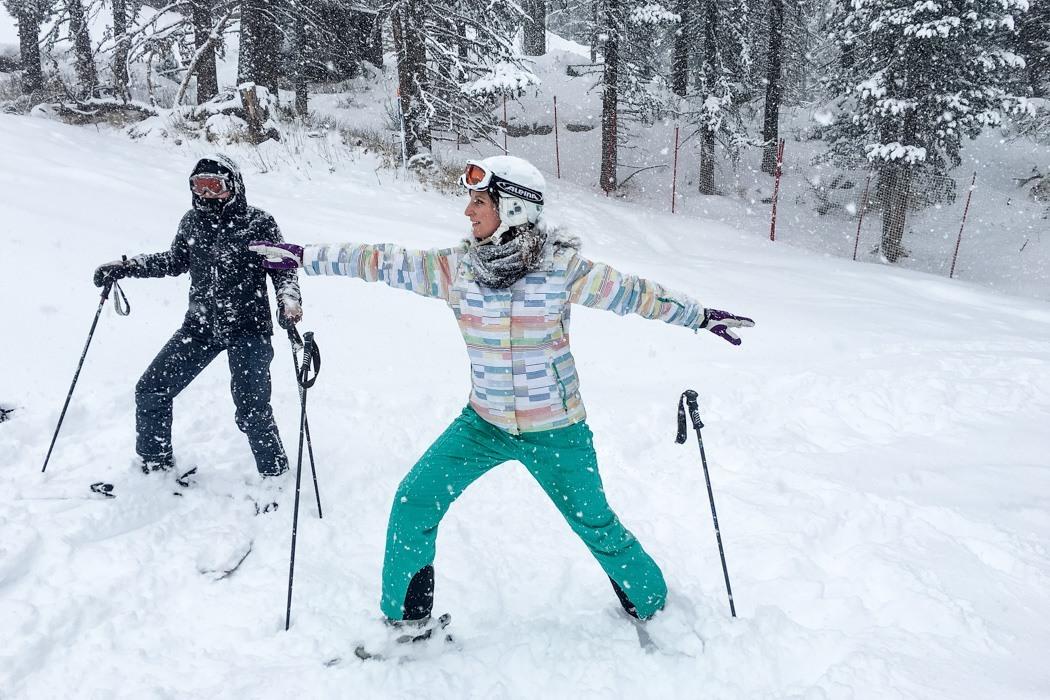 St. Moritz & das Rezept für ein perfektes Schneewochenende: Kulm Hotel St. Moritz, Yoga on Snow / Skiyoga, Übungen