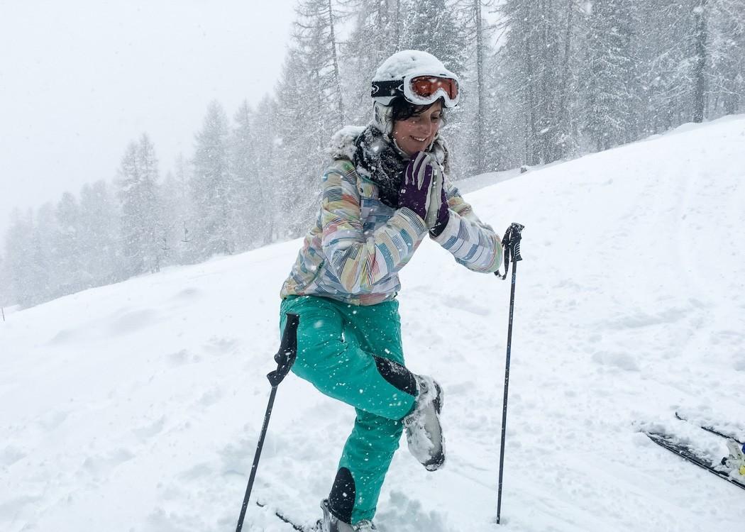 St. Moritz & das Rezept für ein perfektes Schneewochenende: Skiyoga Pose