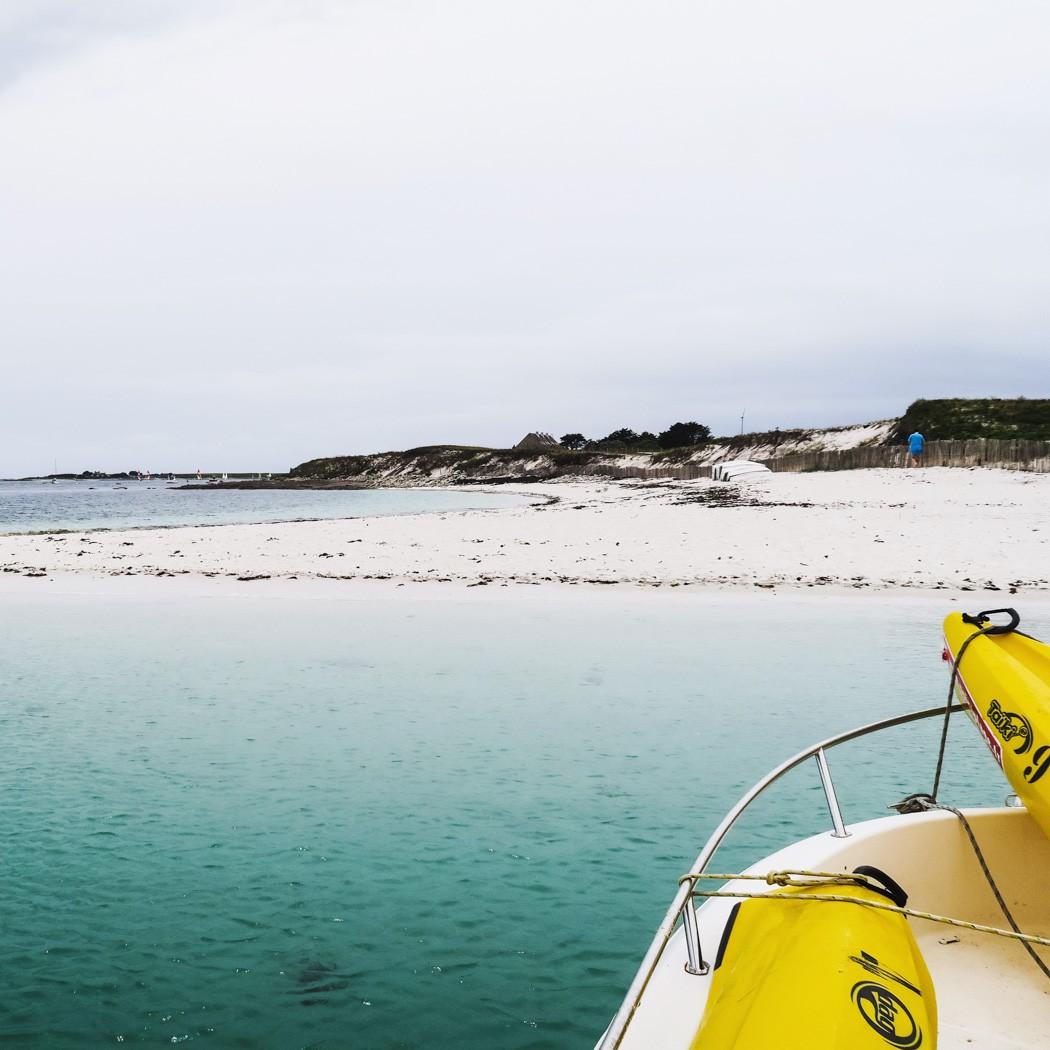 Bretagne Rundreise Tag #9 - Sainte-Marine und die Glenan-Inseln