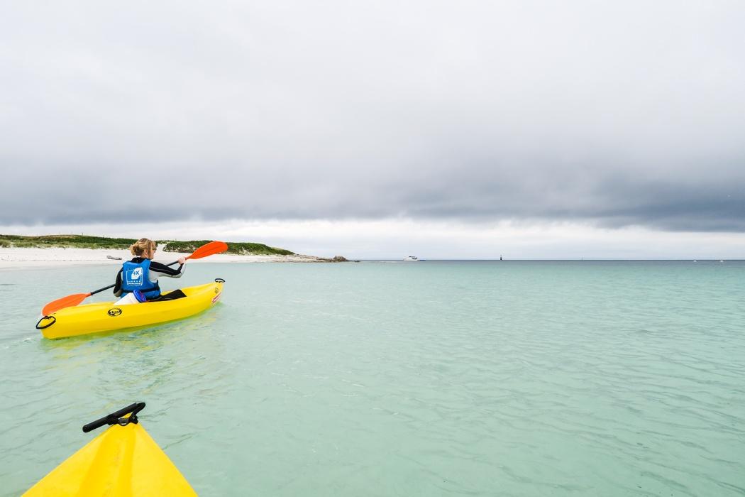 """Glénan Archipel - Kajaken bei den """"Südseeinseln"""" der Bretagne: Ein Sturm zieht auf!"""