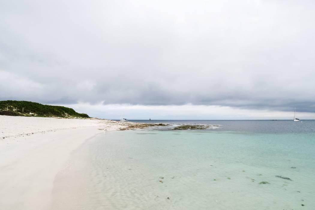 """Glénan Archipel - Kajaken bei den """"Südseeinseln"""" der Bretagne: Ein letzter Blick zurück!"""