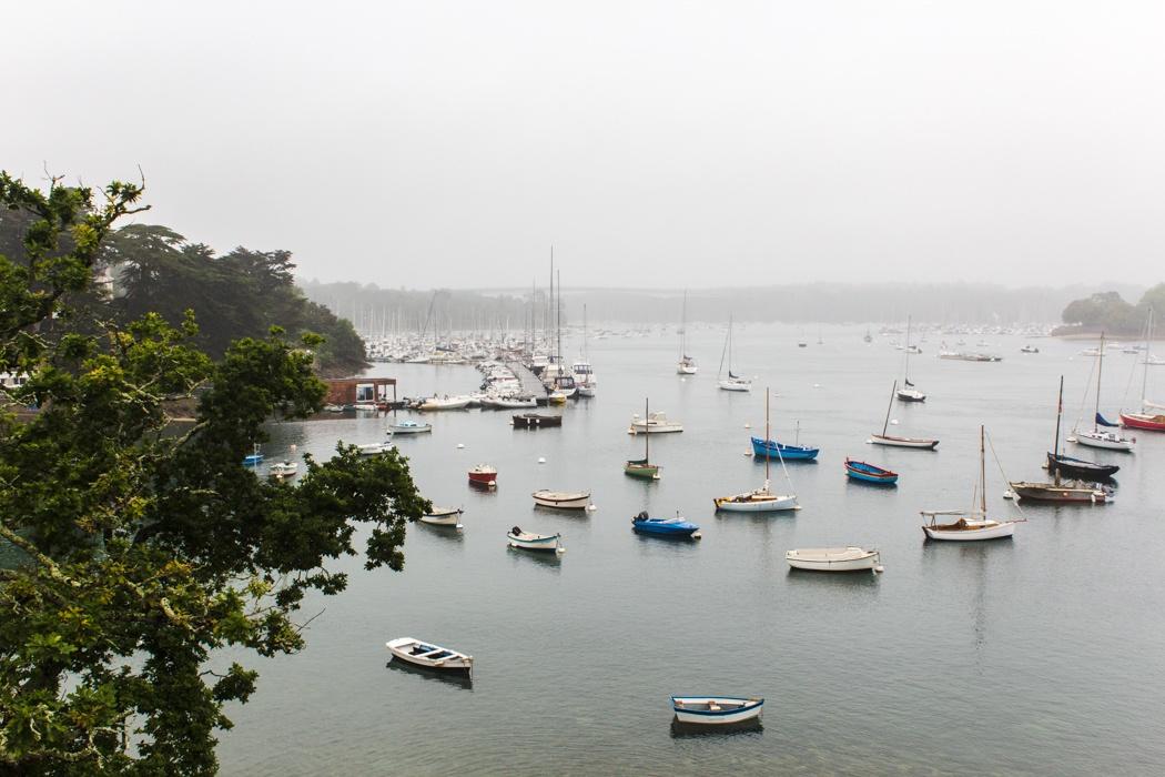 """Glénan Archipel - Kajaken bei den """"Südseeinseln"""" der Bretagne: Zurück in Saint Marine"""