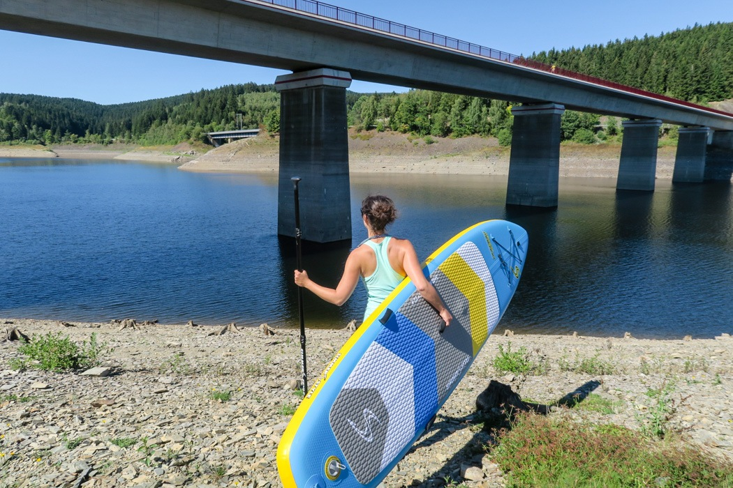 Harz-Stand-Up-Paddling-Okertalsperre-4
