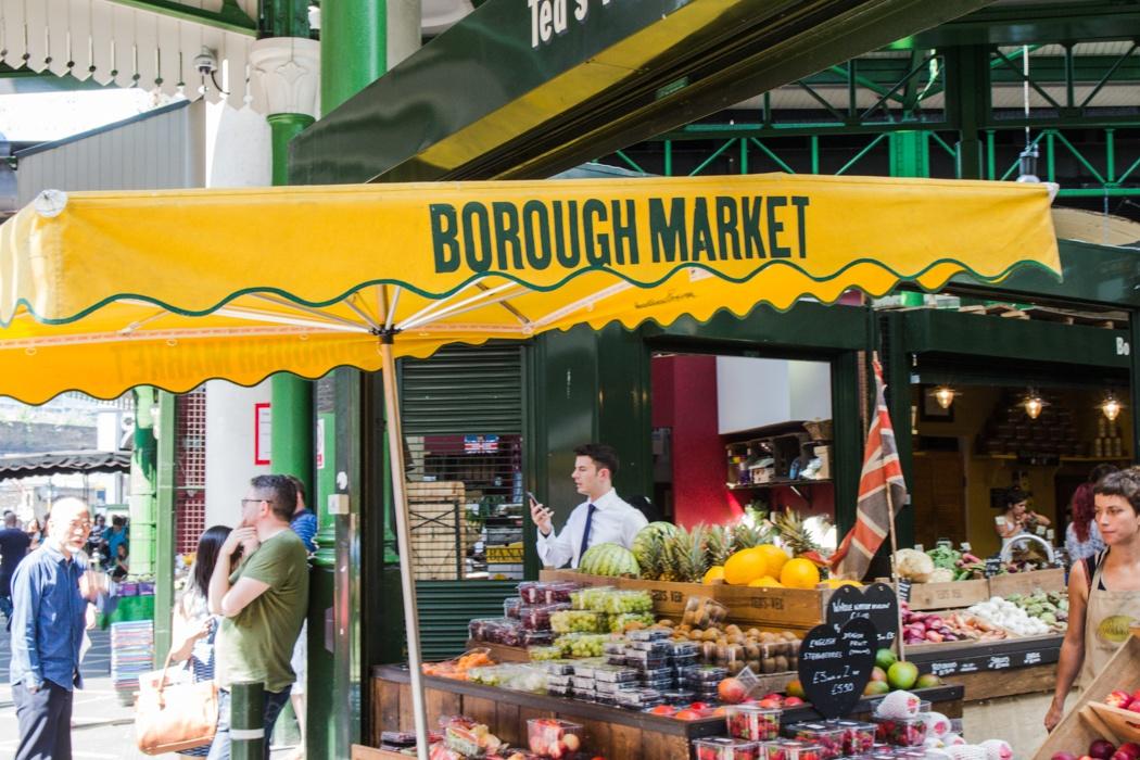 Food Diary UK - Borough Market London