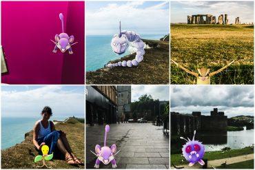 Pokemon Go auf Reisen
