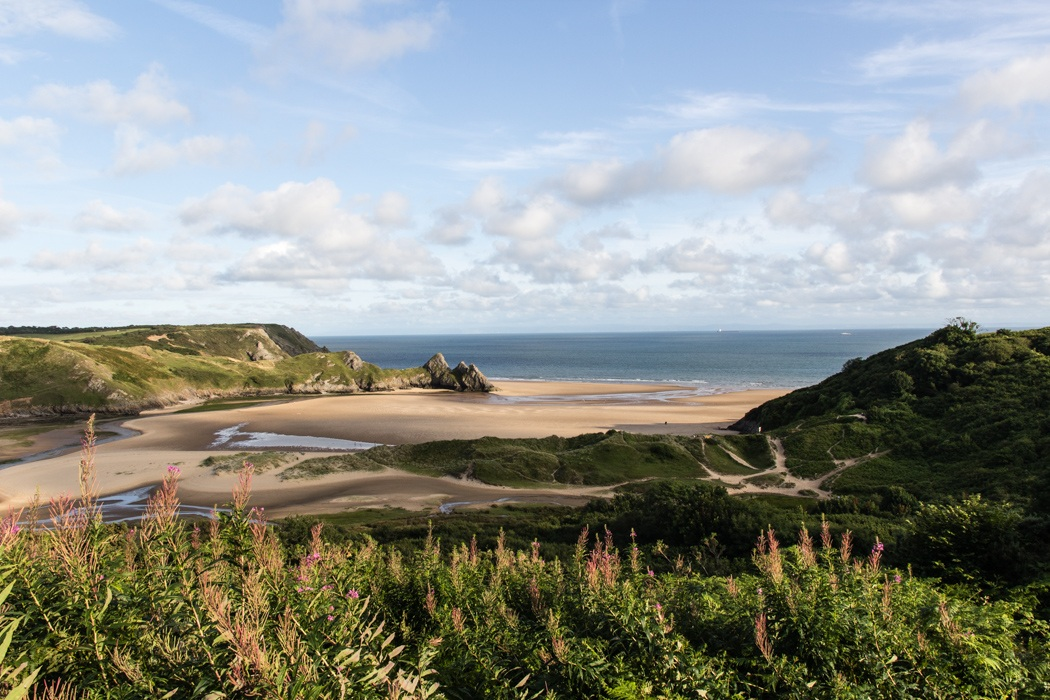 Suedwales-Three-Cliffs-Bay-4