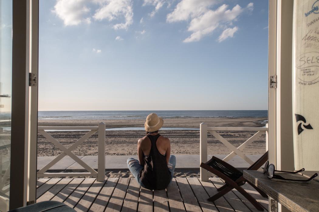Den Haag: Aufwachen im Haus am Meer